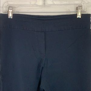 Erica Taylor Navy stretch ankle pant